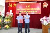 Lãnh đạo VKSNDTC trao quyết định bổ nhiệm Viện trưởng và Phó Viện trưởng VKSND tỉnh Điện Biên
