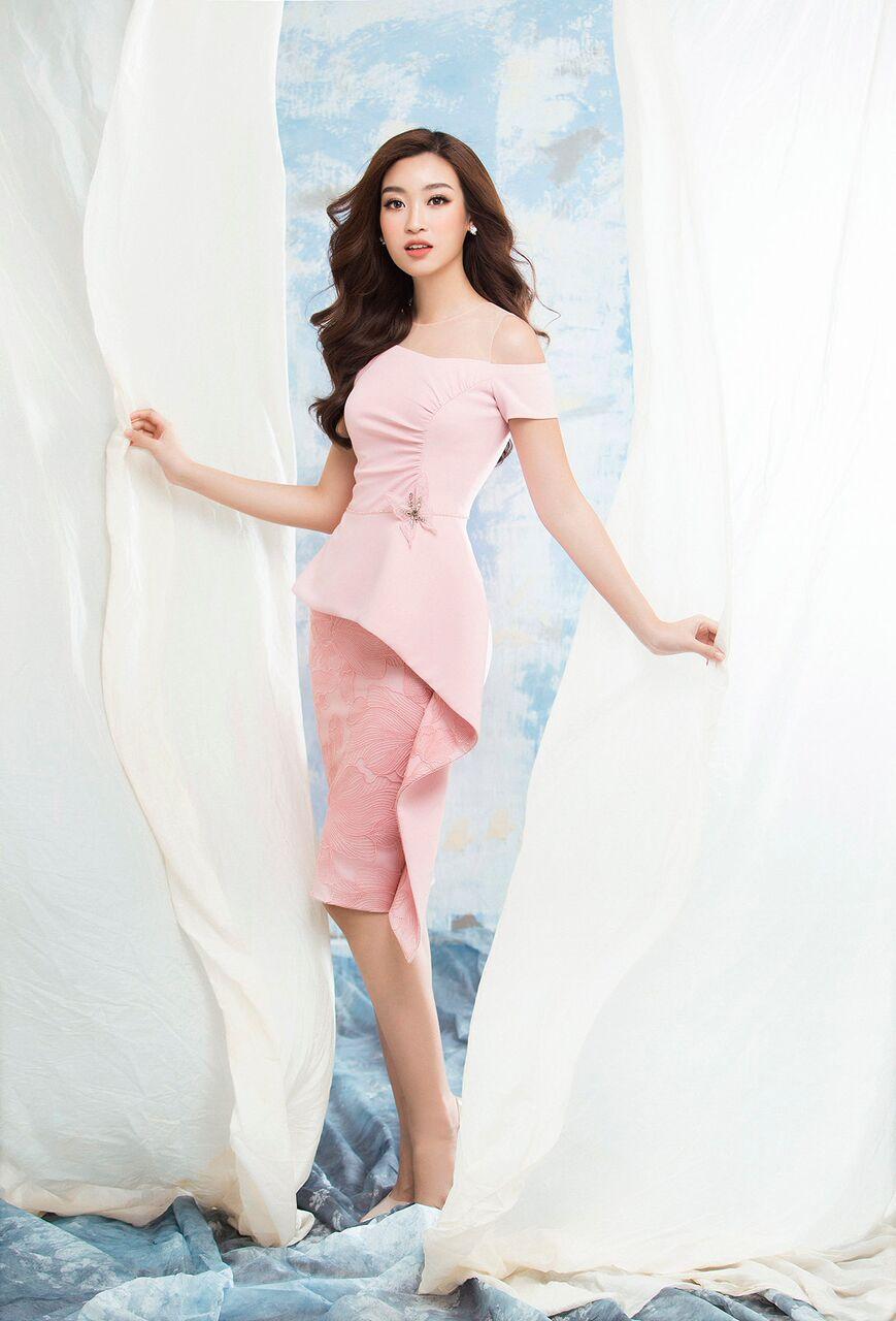 Sau Ngọc Trinh, NTK Đỗ Long tiếp tục biến hoá phong cách cho Hoa hậu Mỹ Linh