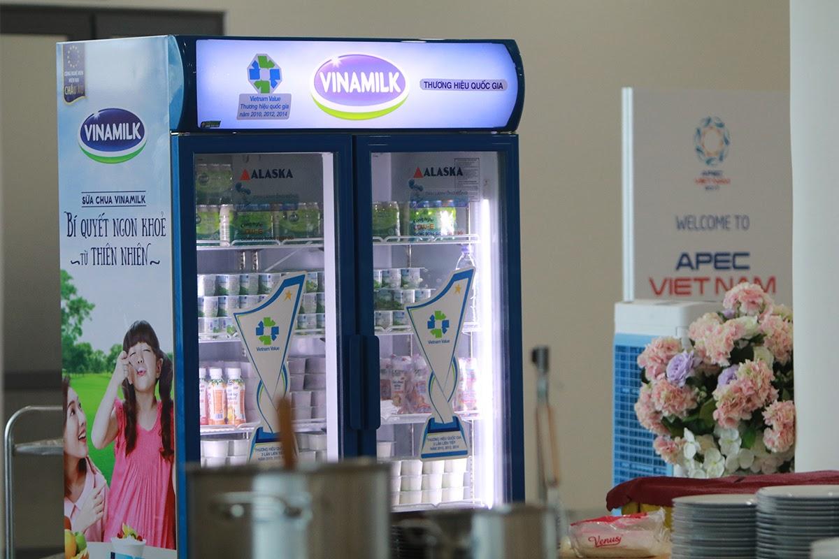 Hơn nửa triệu sản phẩm Vinamilk được chọn phục vụ Hội nghị lãnh đạo cấp cao 21 nền kinh tế thành viên APEC