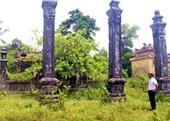 Tạm dừng thi công khu định cư, chờ ý kiến tỉnh về bảo tồn đình cổ Phú Vĩnh