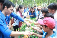 Tân Hiệp Phát đồng hành cùng ngày hội Kết nối trái tim tình nguyện 2017
