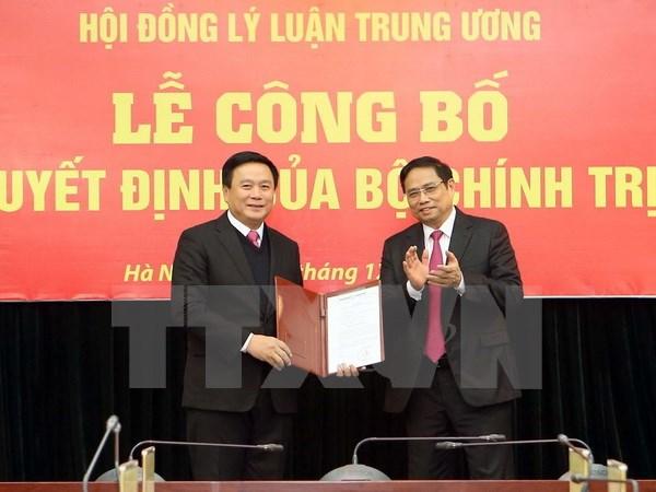 Ông Nguyễn Xuân Thắng được phân công phụ trách Hội đồng Lý luận TW