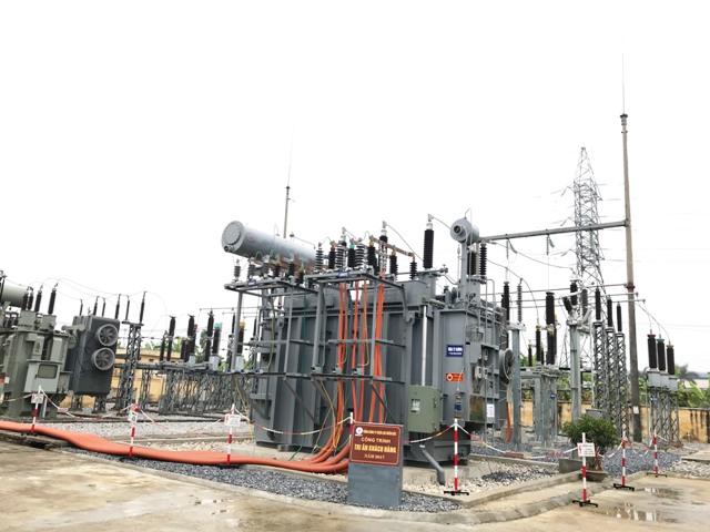 EVNNPC Đóng điện dự án lắp máy T2 TBA 110KV Châu Sơn, Hà Nam