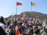 Tái khởi động thu phí thăm quan khu di tích Yên Tử