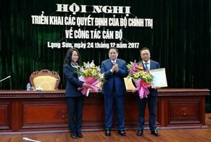 Phó Trưởng Ban Tuyên giáo Trung ương Lâm Phương Thanh làm Bí thư Tỉnh ủy Lạng Sơn