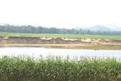 Doanh nghiệp chạy 3 mỏ cát - dòng sông biến dạng, dân lo