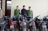 Khởi tố đối tượng một mình thực hiện hàng chục vụ trộm cắp xe máy