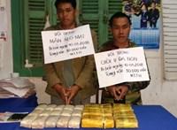 Bắt giữ 2 đối tượng người Lào vận chuyển ma túy với số lượng lớn