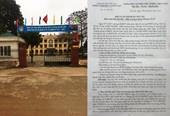 Trường tiểu học Tề Lỗ Vĩnh Phúc  Cần làm rõ những sai phạm của Hiệu trưởng