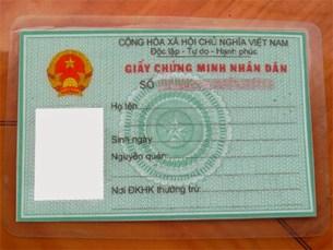 Thủ tục cấp giấy chứng nhận số CMND cũ