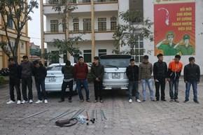 Gây rối trật tự để đòi nợ thuê, nhóm côn đồ bị bắt giữ