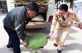 Nghệ An Bắt giữ 4 bao tải nội tạng động vật thối bán lên huyện miền núi
