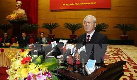 Tổng Bí thư Kiên quyết chống tham nhũng trong công tác cán bộ