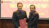 Trao quyết định bổ nhiệm Tổng Biên tập Báo Bảo vệ pháp luật