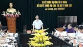 """Vụ """"cả nhà làm quan"""" Kiểm điểm Bí thư Huyện ủy An Dương Hải Phòng"""