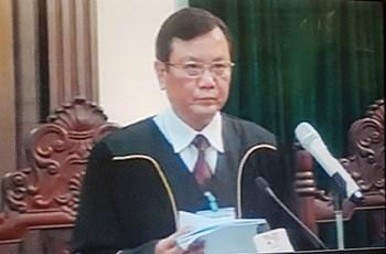 Tuyên án bị cáo Đinh La Thăng 13 năm tù, bị cáo Trịnh Xuân Thanh chung thân