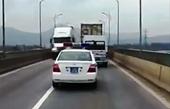 Quảng Bình Xe ô tô Cảnh sát giao thông phạm lỗi, ai sẽ là người đứng ra phạt