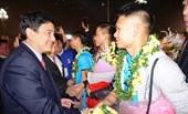 Hà Tĩnh – Nghệ An Vinh danh các cầu thủ U23 tại quê nhà