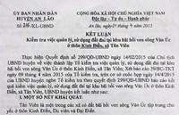 An Lão, Hải Phòng Xử lý dứt điểm sai phạm ở xã Tân Viên trong đầu năm 2018