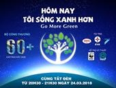 Lễ khởi động Giờ Trái đất năm 2018 sẽ diễn ra vào ngày 3 3