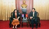 Phó Viện trưởng VKSND tối cao Trần Công Phàn tiếp Đại sứ Cộng hòa Cuba