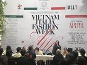 Tôn vinh lụa tại Tuần lễ thời trang Thu Đông Việt Nam - Italia