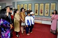 Triển lãm Tranh dân gian, mãi lưu giữ giá trị văn hóa bản sắc dân tộc