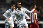 Cristiano Ronaldo ghi 4 bàn, Real Madrid trở lại tốp 3 La Liga