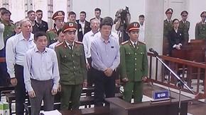 Viện kiểm sát công bố cáo trạng truy tố bị cáo Đinh La Thăng và đồng phạm