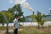 Khánh Hòa Nhà máy đường Vietsugar gây ô nhiễm môi trường