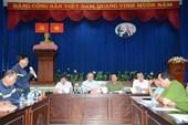 Họp báo khẩn vụ cháy chung cư làm 13 người chết tại TP Hồ Chí Minh