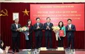 Triển khai quyết định nhân sự của Bộ Chính trị, Ban Bí thư và Thủ tướng Chính phủ