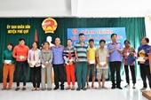 VKSND Cấp cao tại TP Hồ Chí Minh thăm, tặng quà tại huyện đảo Phú Quý - Bình Thuận