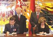 Viện trưởng VKSND tối cao ký Hiệp định tương trợ tư pháp về hình sự giữa Việt Nam và Cu Ba