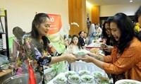 Phở Việt Nam thu hút sự chú ý tại Lễ hội ẩm thực ASEAN và đối tác