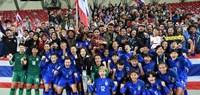 Đội tuyển nữ Thái Lan lần thứ 2 liên tiếp giành vé dự World Cup 2019