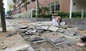 Sai phạm lát đá vỉa hè 21 cán bộ quận Hà Đông bị kỷ luật