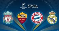 Đã có lịch thi đấu bán kết và chung kết Champions League 2017 2018