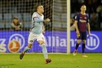 Barcelona đánh rơi chiến thắng đầy đáng tiếc trước Celta Vigo