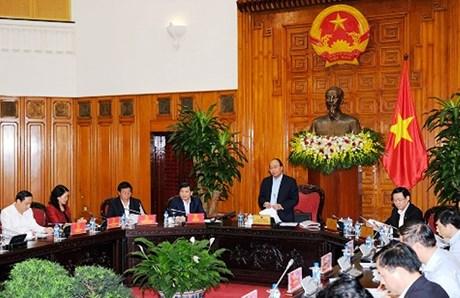 Thủ tướng Chính phủ làm việc với VKSND Tối cao và TAND Tối cao