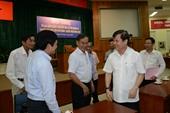 Tổ Đại biểu Quốc hội Đơn vị 4 tiếp xúc cử tri quận 10 TP Hồ Chí Minh