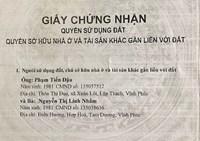 Xã Nam Hồng, huyện Đông Anh, TP Hà Nội Thoái thác trách nhiệm giải quyết