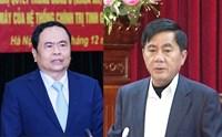 Bầu hai đồng chí Trần Cẩm Tú và Trần Thanh Mẫn vào Ban Bí thư