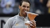 Nadal bừng tỉnh sau cơn mưa, đăng quang Rome Masters kịch tính