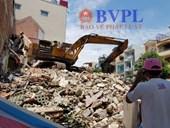 Sập nhà đang tháo dỡ ở TP  Hồ Chí Minh, 3 người thương vong