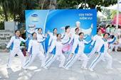 Vinamilk Sure Prevent tiếp tục đồng hành cùng phong trào rèn luyện sức khỏe người cao tuổi tại TP Hà Nội