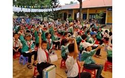 Hơn 16 000 ly sữa cho trẻ em nhân Ngày sữa thế giới 2018