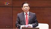 Trả lời chất vấn, Bộ trưởng Bộ GTVT nhiều lần nhận lỗi