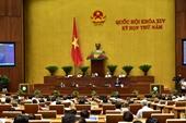 Lùi thời gian thông qua Luật đơn vị hành chính- kinh tế đặc biệt Vân Đồn, Bắc Vân Phong và Phú Quốc