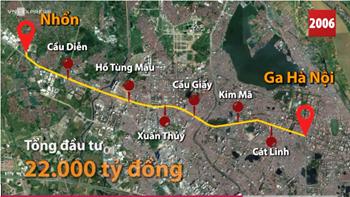 Chủ tịch UBND TP. Hà Nội nhận trách nhiệm vì đường sắt trên cao chậm tiến độ